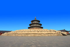 The temple of heaven in Beijing QiNianDian Stock Image