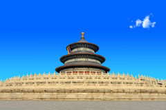 The temple of heaven in Beijing QiNianDian Stock Photography