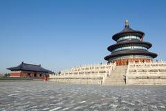 Temple of Heaven in Beijing (Tiantan).  Stock Photo