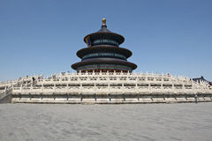 Temple of Heaven in Beijing (Tiantan) Royalty Free Stock Images