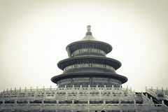 Temple of Heaven of Beijing Royalty Free Stock Photos