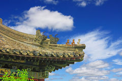 The temple of heaven in Beijing. Beijing traditional architectural decoration cokes Stock Photo