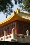 Temple of Heaven with blue sky in Beijing Stock Photography