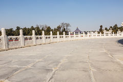 The temple of heaven channel in Beijing, China Royalty Free Stock Image