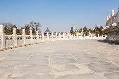 the temple of heaven channel in Beijing, China Stock Images