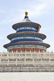 Temple of Heaven in China stock images