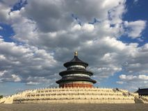 Temple of Heaven in China stock photos
