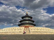 Temple of Heaven in China royalty free stock images