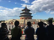 Temple of Heaven in China royalty free stock image