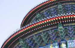 Temple of Heaven detail, Beijing China Royalty Free Stock Photography