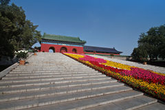 Temple of heaven. Entrance to temple of heaven, beijing, china Stock Photography