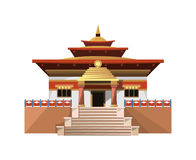 Temple of Heaven icon isolated on white background. Vector illustration for religion design. China culture building architecture. Famous asia landmark. Beijing vector illustration
