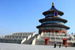 Temple of Heaven park in Beijing Royalty Free Stock Image