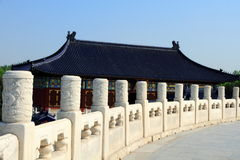 Temple of Heaven park in Beijing Royalty Free Stock Photo