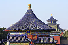 Temple of Heaven Rooftops Royalty Free Stock Photos