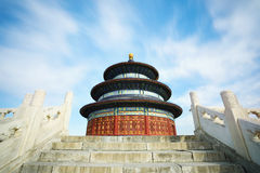 Temple of Heaven scenary Royalty Free Stock Photo