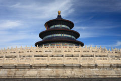 Temple of Heaven from side view Stock Photo