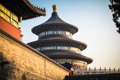 Temple of Heaven side Royalty Free Stock Images