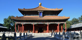 Temple of Heaven. The Temple of Heaven is an imperial complex of religious buildings situated in the southeastern part of central Beijing Royalty Free Stock Image