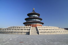 Temple of Heaven (Tian Tan) in Beijing Royalty Free Stock Photo