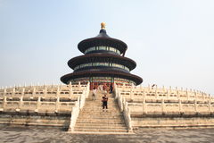 Temple of Heaven (Tian Tan) in Beijing Stock Image