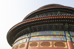 The Temple of Heaven Tiantan Daoist temple eligious buildings Beijing China Royalty Free Stock Image