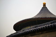 Temple of Heaven, Tiantan park, in Beijing CHINA royalty free stock image