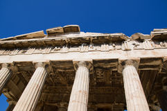 Temple of Hephaestus Stock Photo