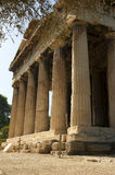 The temple of Hephaestus Royalty Free Stock Image