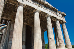 The Temple of Hephaestus in Agora. Athens, Greece. Royalty Free Stock Images