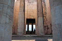 The Temple of Hephaestus in Agora. Athens, Greece. Stock Images