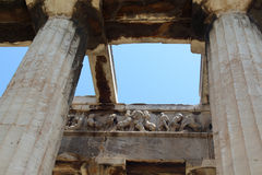 The temple of Hephaestus, Ancient Agora of Athens Stock Photography