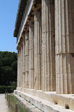 The temple of Hephaestus, Ancient Agora of Athens Stock Images