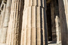 Temple of Hephaestus in Ancient Agora, Athens Stock Images