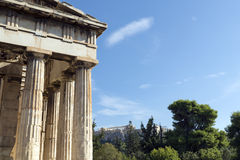 Temple of Hephaestus Stock Images
