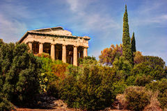 Temple of Hephaestus in Ancient Agora, Athens, Greece Royalty Free Stock Photo