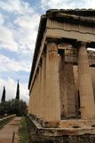 Temple of Hephaestus in Ancient Agora of Athens. Greece Royalty Free Stock Photo
