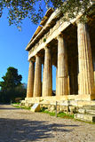 Temple of Hephaestus Stock Image