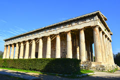 Temple of Hephaestus Stock Photos