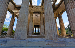 Temple of Hephaestus Stock Photos