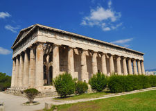 The temple of Hephaestus, Athena, Greece Stock Images