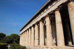 Temple of  Hephaestus Royalty Free Stock Photo