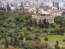 Temple of Hephaestus, Athens Stock Photos