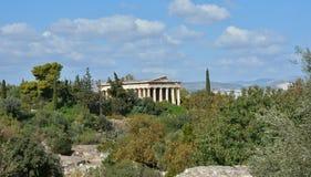 Temple of Hephaestus in Athens Stock Photo