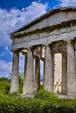 Temple of Hephaestus Royalty Free Stock Image