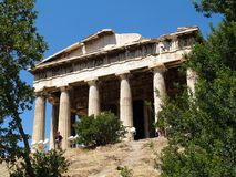 Temple of Hephaestus, Athens Stock Photo