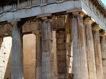 Temple of Hephaestus, Athens Royalty Free Stock Photo