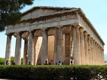 Temple of Hephaestus, Athens Stock Photography