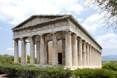 Temple of Hephaestus. Athens, Grece. Stock Photo