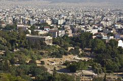 Temple of Hephaestus at Athens, Greece Royalty Free Stock Photos